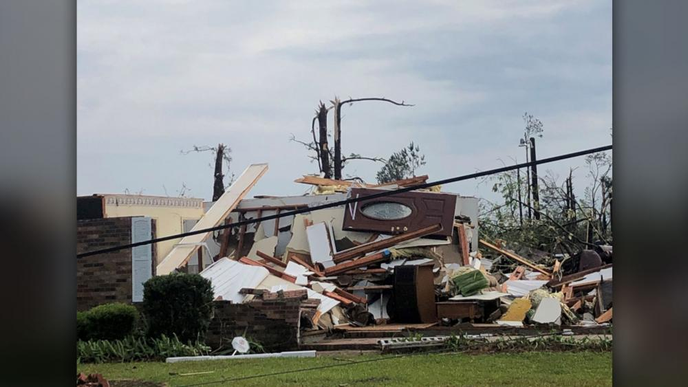 South Carolina Woman Says She Survived Tornadoes That Killed Nine People by 'Calling on Jesus'