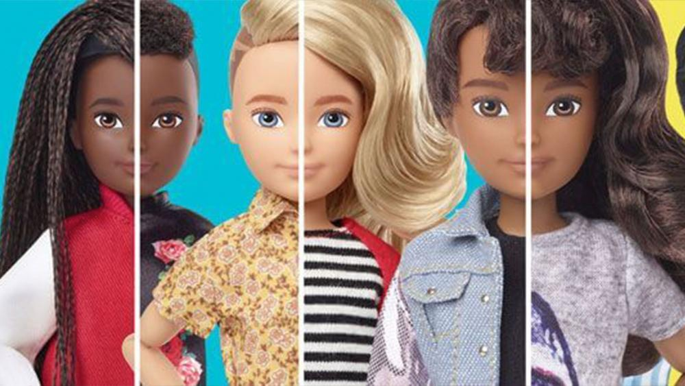 Mattel's New Line of Gender-Neutral Dolls