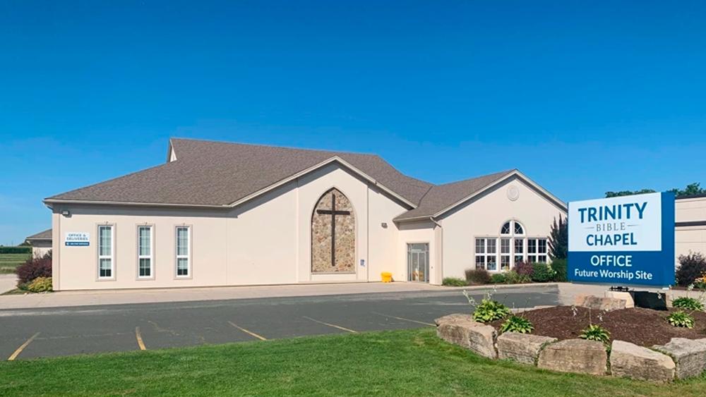 Trinity Bible Chapel in Waterloo, Ontario, Canada.   Facebook/Trinity Bible Chapel