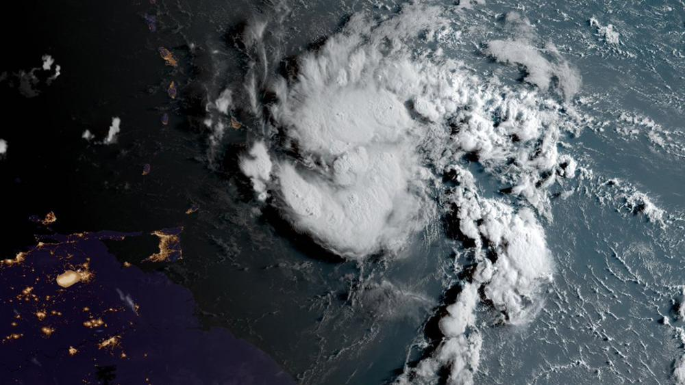 Tropical Storm Dorian (Photo: National Oceanic and Atmospheric Administration)