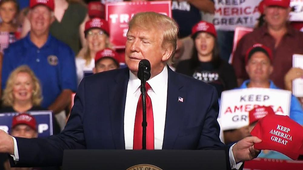 Trump Defends Life in 2020 MAGA Rally: Killing Babies After