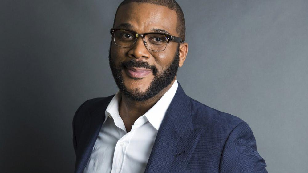 In this Nov. 16, 2017, file photo, actor-filmmaker and author Tyler Perry poses for a portrait in New York (Photo by Amy Sussman/Invision/AP, File)