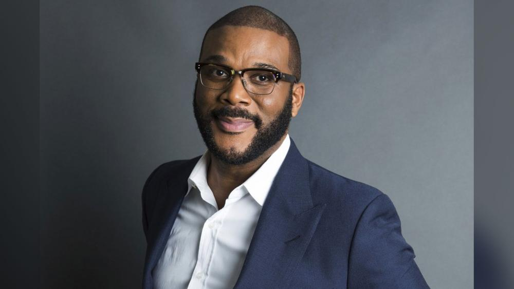 In this Nov. 16, 2017, file photo, actor-filmmaker and author Tyler Perry poses for a portrait in New York. (Photo by Amy Sussman/Invision/AP, File)