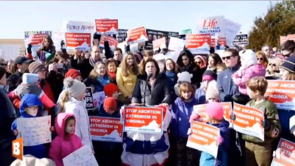 Wake Up!' Virginia Rally Rejects Radical Democratic Abortion Agenda