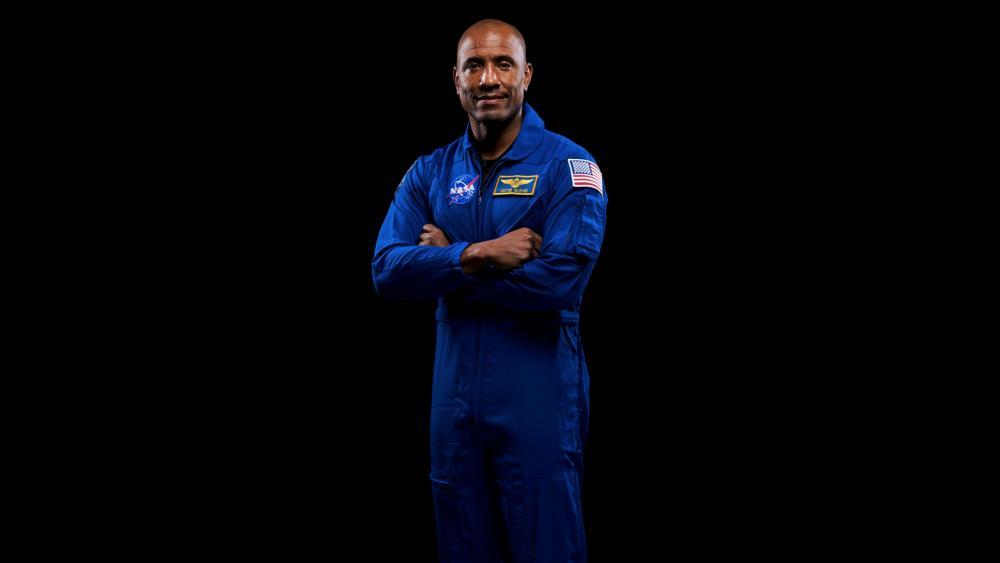 NASA Astronaut Victor Glover (Norah Moran/NASA via AP)