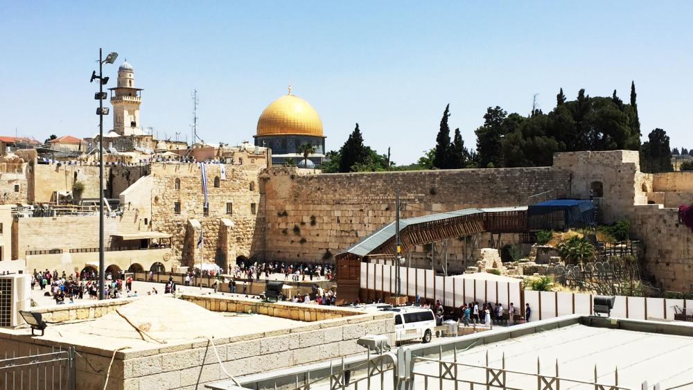 Western Wall Plaza, Photo, CBN News Jonathan Goff