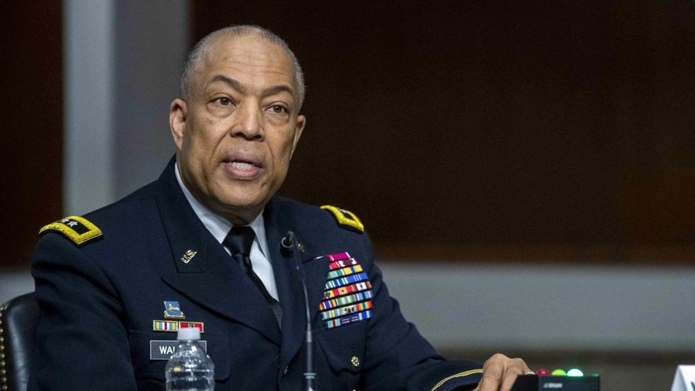 Commanding General District of Columbia National Guard Major General William J. Walker testifies before a Senate Committee (Shawn Thew/Pool via /AP)