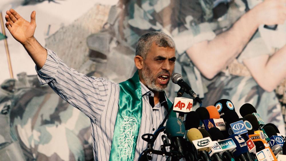 New Hamas chief Yahya Sinwar, Photo, AP