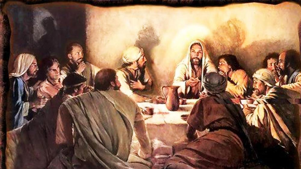 Yeshua at the Passover Seder, Photo, FB