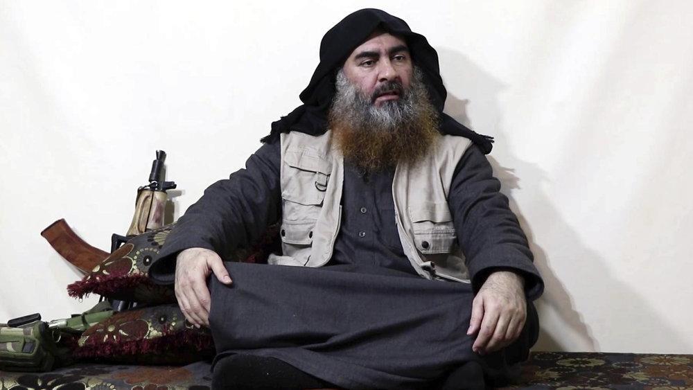 The leader of the Islamic State group, Abu Bakr al-Baghdadi (AP Photo)