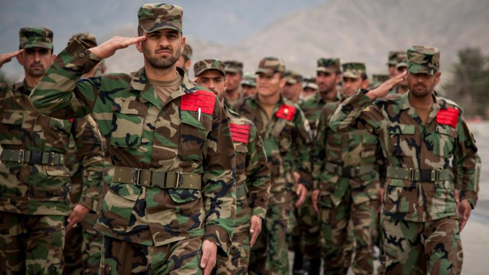 Soldiers of the Afghanistan army. (AP Photo)