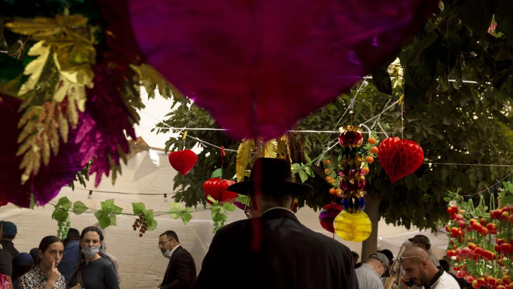 Jews and Christians Kick-Off Joyous Sukkot Holiday in Israel