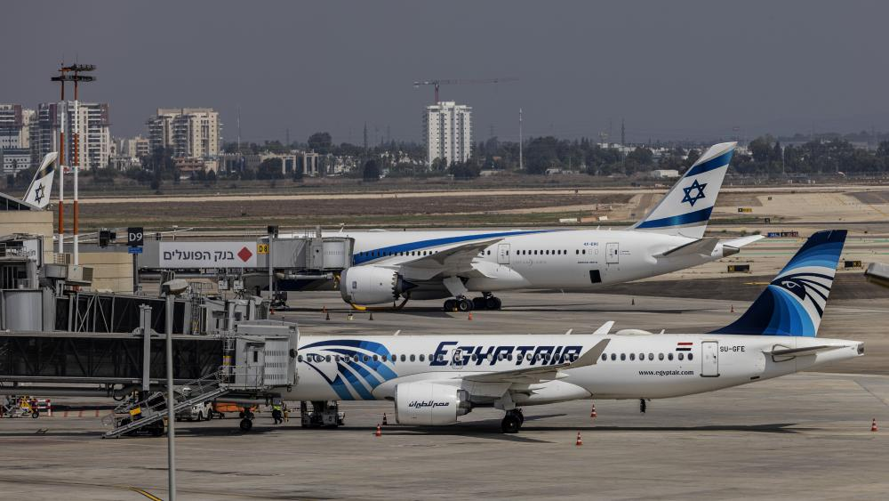 EgyptAir Makes First Direct Flight to Israel Decades After Historic Peace Treaty