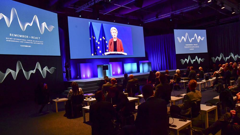World Leaders Meet in Sweden for the International Forum on Holocaust Remembrance to Discuss How Social Media Is Causing Increase in Anti-Semitism