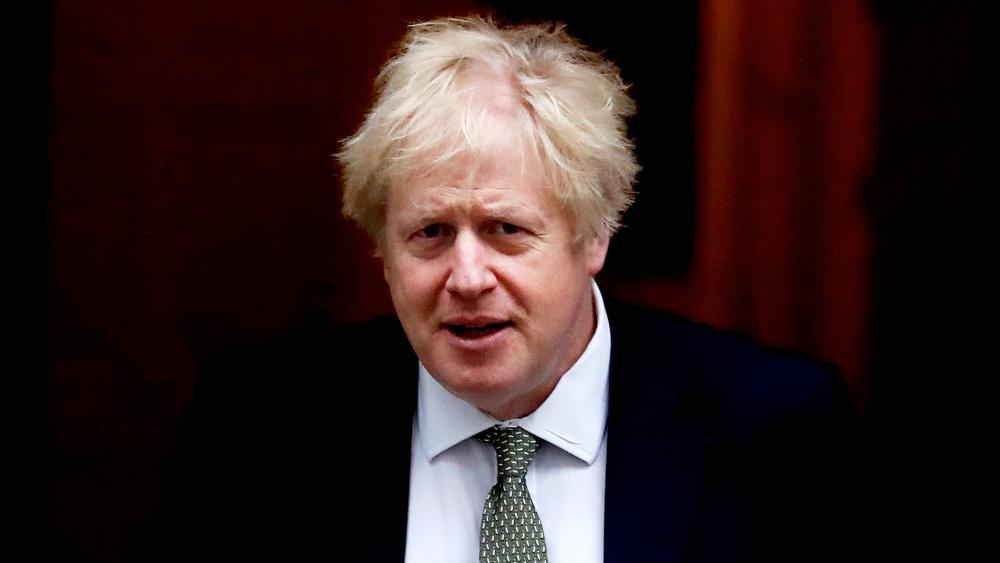 Britain's Prime Minister Boris Johnson, Dec. 19, 2019. (AP Photo/Frank Augstein)