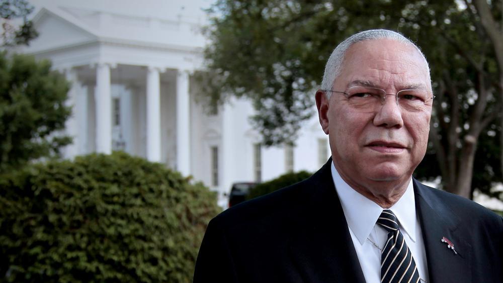 Former Secretary of State General Colin Powell (AP Photo/Pablo Martinez Monsivais)