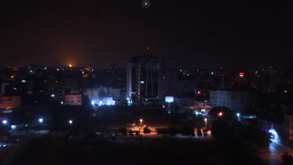 Gaza skyline. Courtesy AP