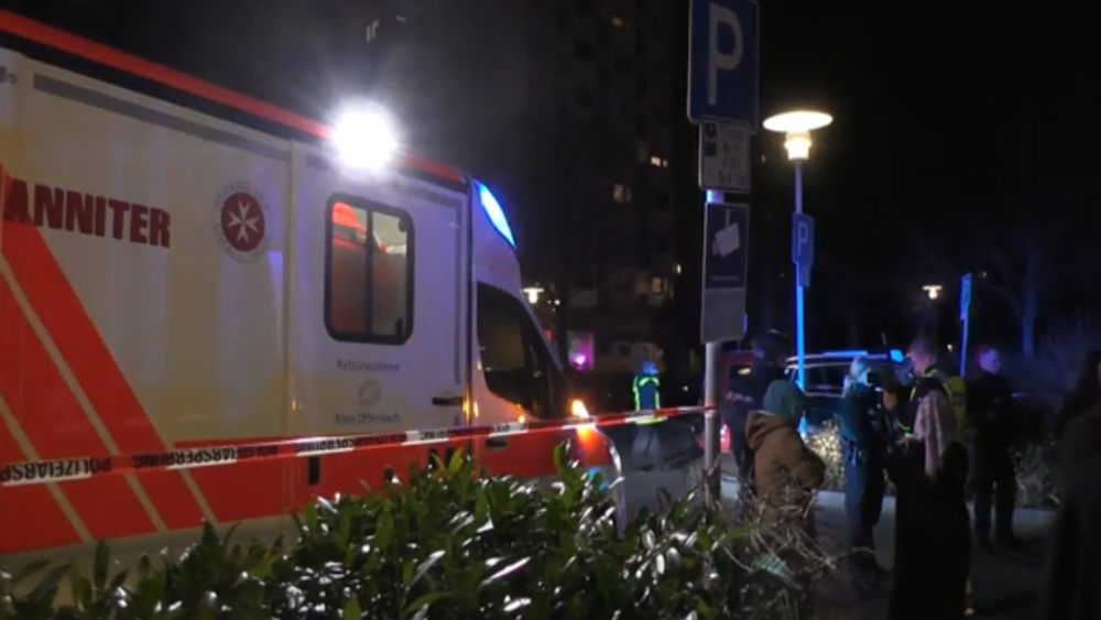 Several people killed in Germany shooting. Photo: Screenshot from Associated Press Video