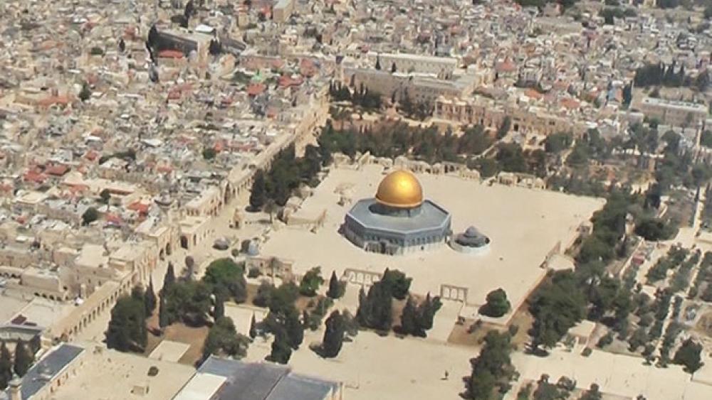 Temple Mount, Photo, CBN News, Jonathan Goff