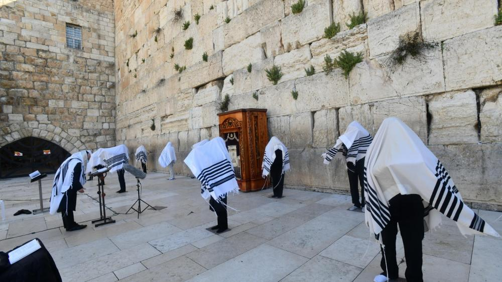 photograph credit – The Western Wall Heritage Foundation and Haim Zach (GPO)