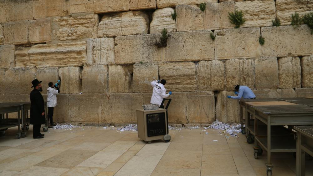 Attached photo credit: The Western Wall Heritage Foundation