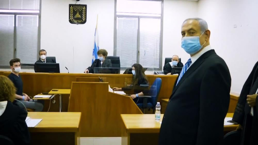 Netanyahu in first court appearance, May 25, 2020