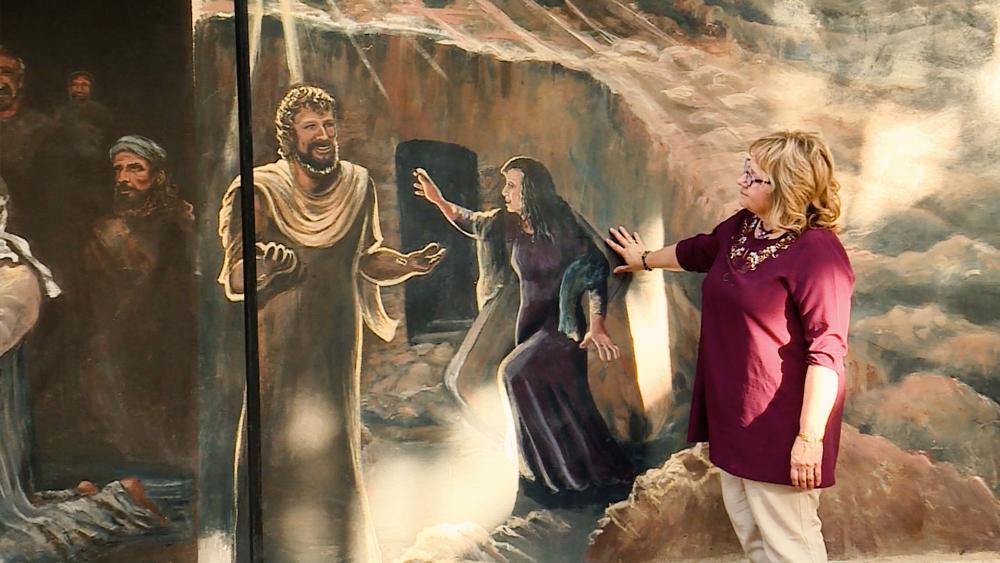 Bible Mural, Jerusalem