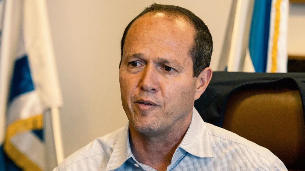 Outgoing Jerusalem Mayor Nir Barkat, Photo, AP