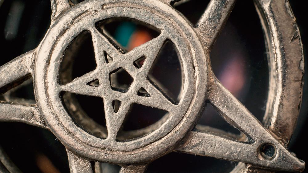 pentagrammedalionas