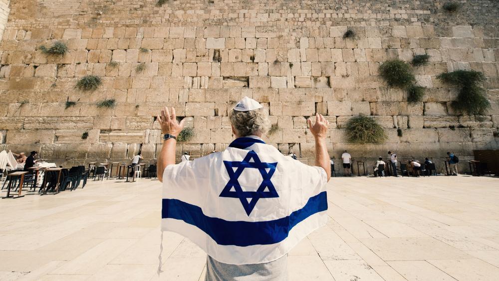 The Praying Wall, Jerusalem, Israel, Jewish State