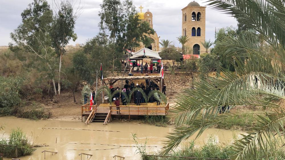 The Jordan River Qasr al Yahud