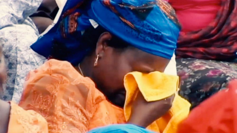 Sad Nigerian Woman