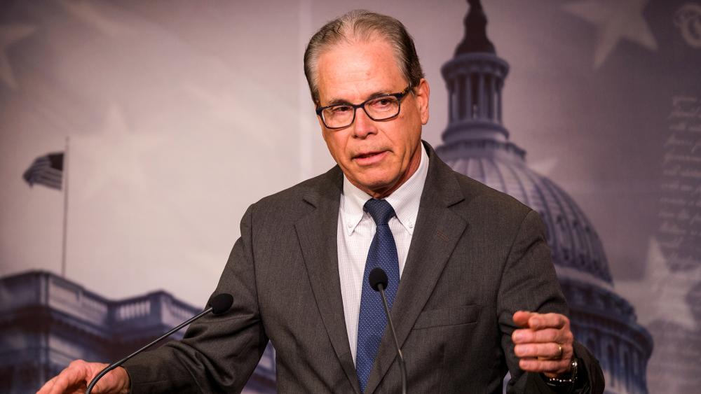 Sen. Mike Braun (R-IN). (Photo: Mario Gonzalez/CBN News)