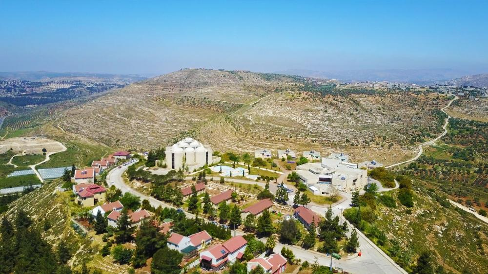 The modern city of Shiloh in Samaria