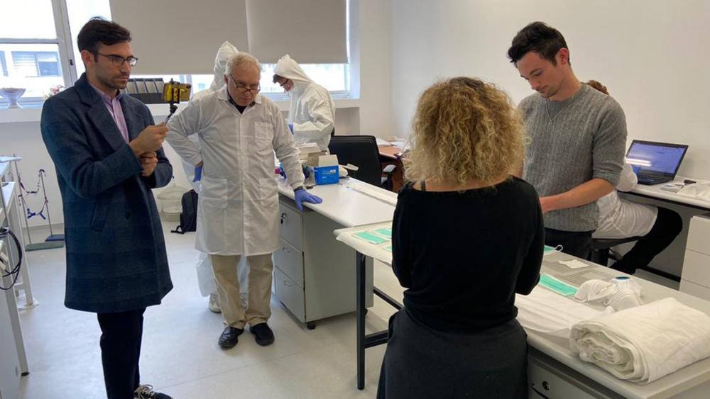 Israeli Companies Develop Revolutionary Antiviral Face Masks to Defend Against Deadly Coronavirus