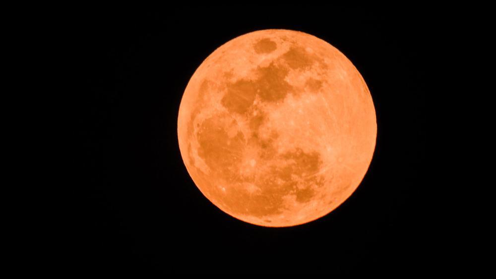 Super Blue Blood Moon over Jerusalem