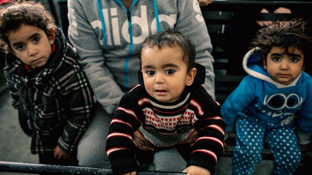 Syrian Children AP