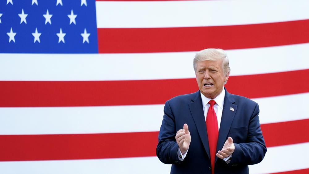 President Trump (AP photo)