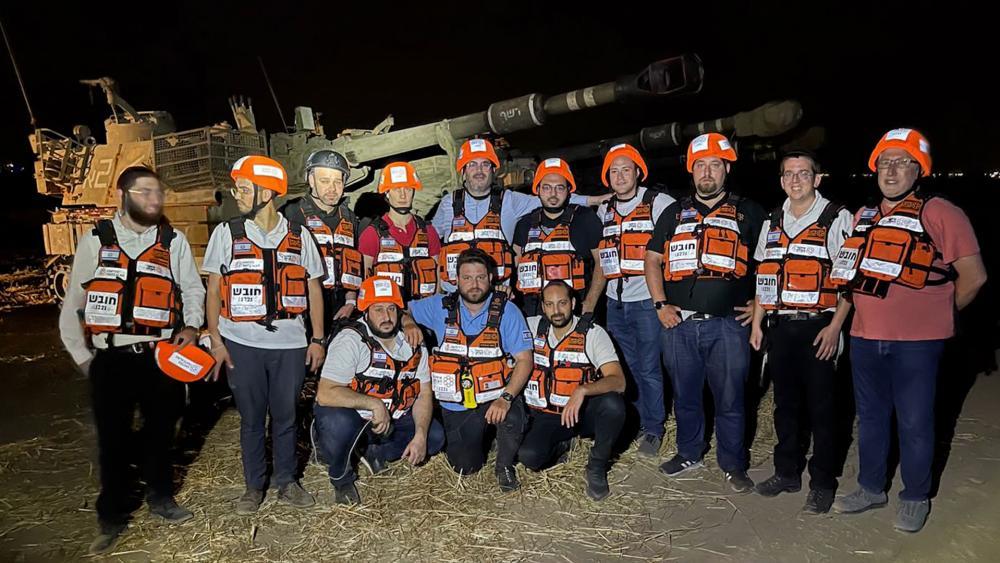 United Hatzalah during Operation Guardian of the Walls 2021