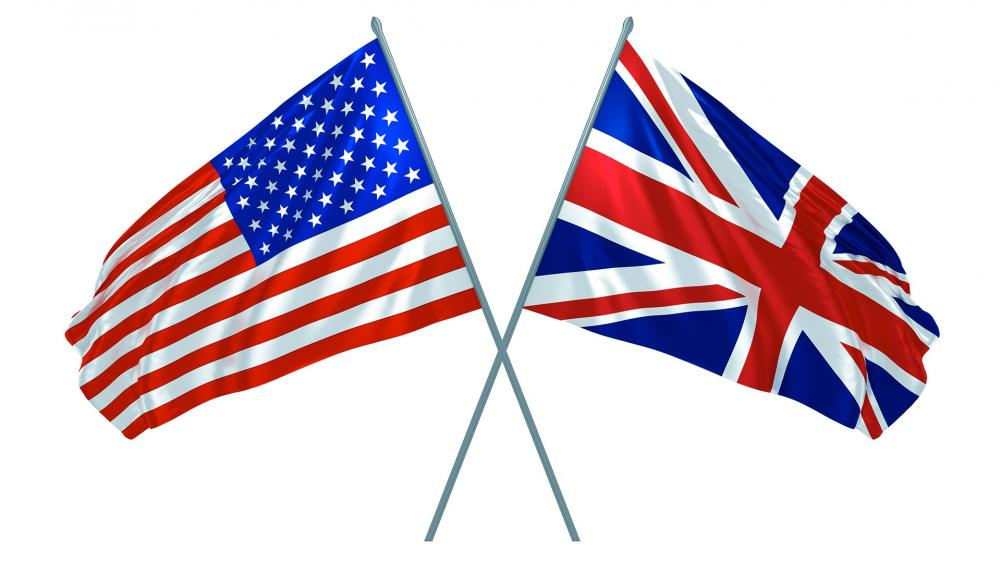 usflagbritainflagas