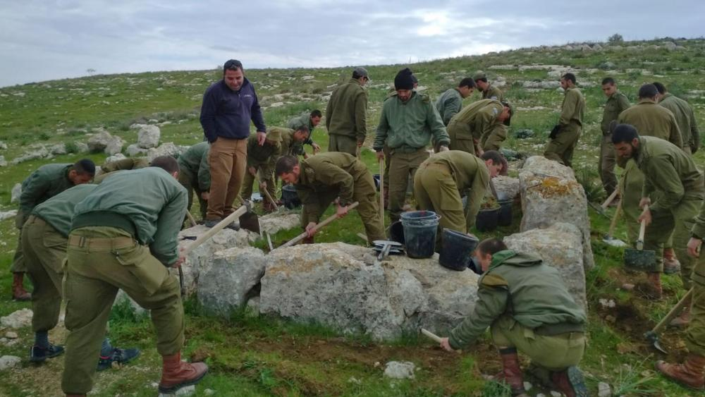 Israeli Soldiers, Archaeologists Discover Watchtower from