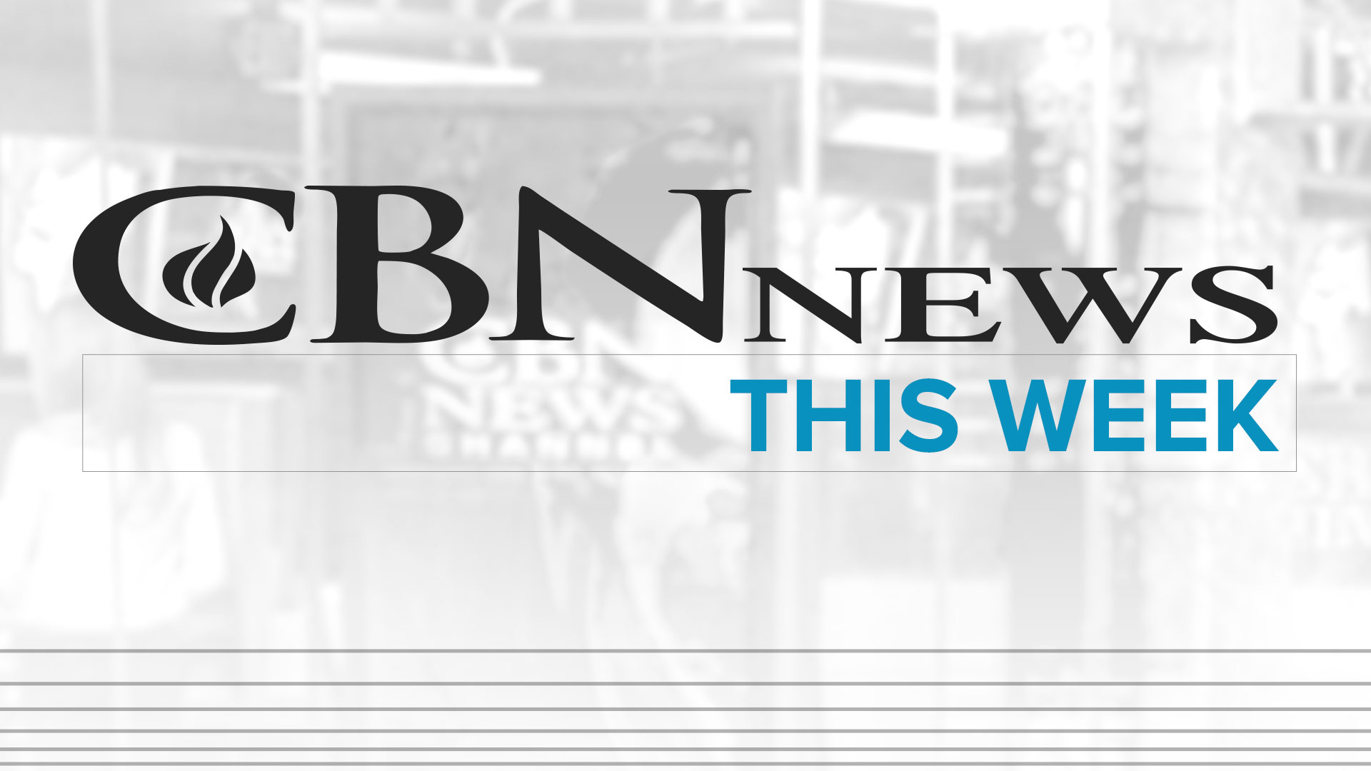 CBN News This Week
